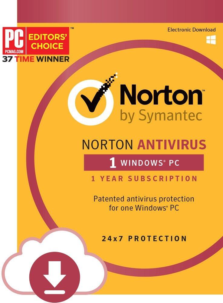 Amazon. Com: symantec norton antivirus 1-device (download code.