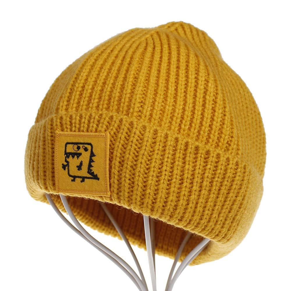 ec6856b6de0 Amazon.com  Gallity Toddler Winter Hat Cold Weather Hat Infant Baby Boys  Girls Knited Woolen Outdoor Ski Hat (Red)  Garden   Outdoor