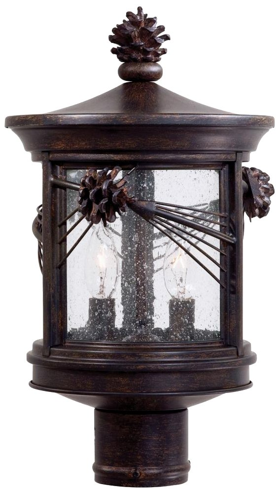 Abbey Lane Collection 16 1/4'' High Outdoor Post Light by Minka Lavery
