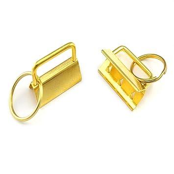 50 Schlüsselband Rohlinge 30mm Schlüsselanhänger Rohling Lanyard Lanyards