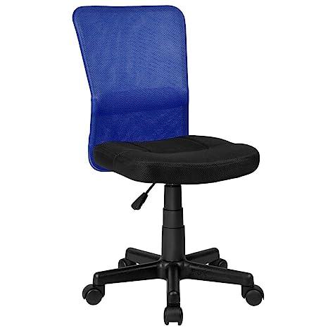 La Silla Española Mojácar Silla de Oficina y Despacho, Poliéster, Azul, 50x40x95 cm: Amazon.es: Hogar