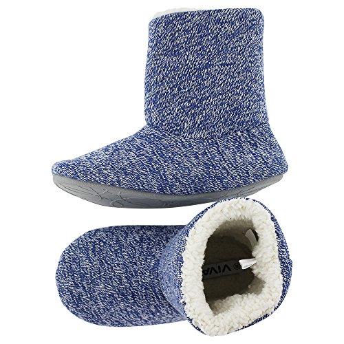brandsseller - Zapatillas de estar por casa de Material Sintético para mujer Azul
