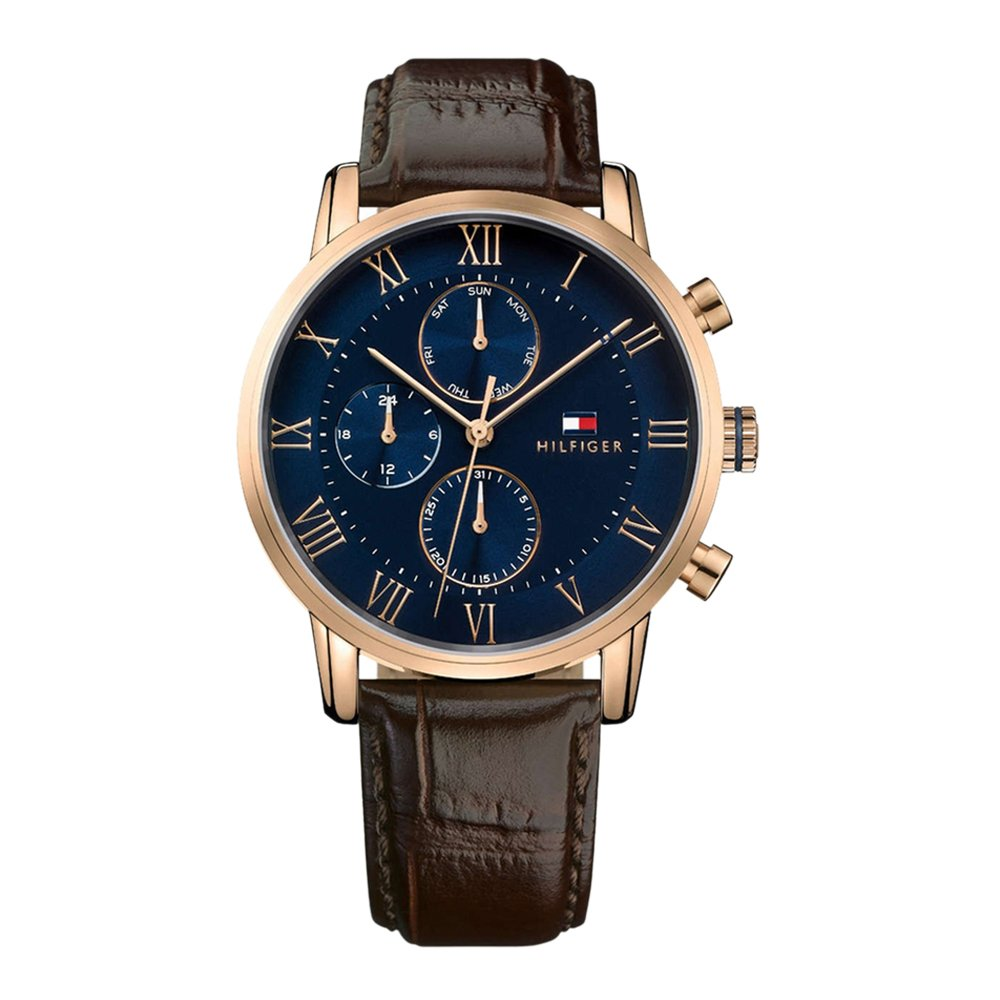 Tommy Hilfiger Analog Blue Dial Men's Watch - TH1791399