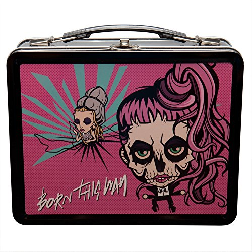 "Lady Gaga ""Free As My Hair"" 2013 Canceled Tour Tin Lunch Box"