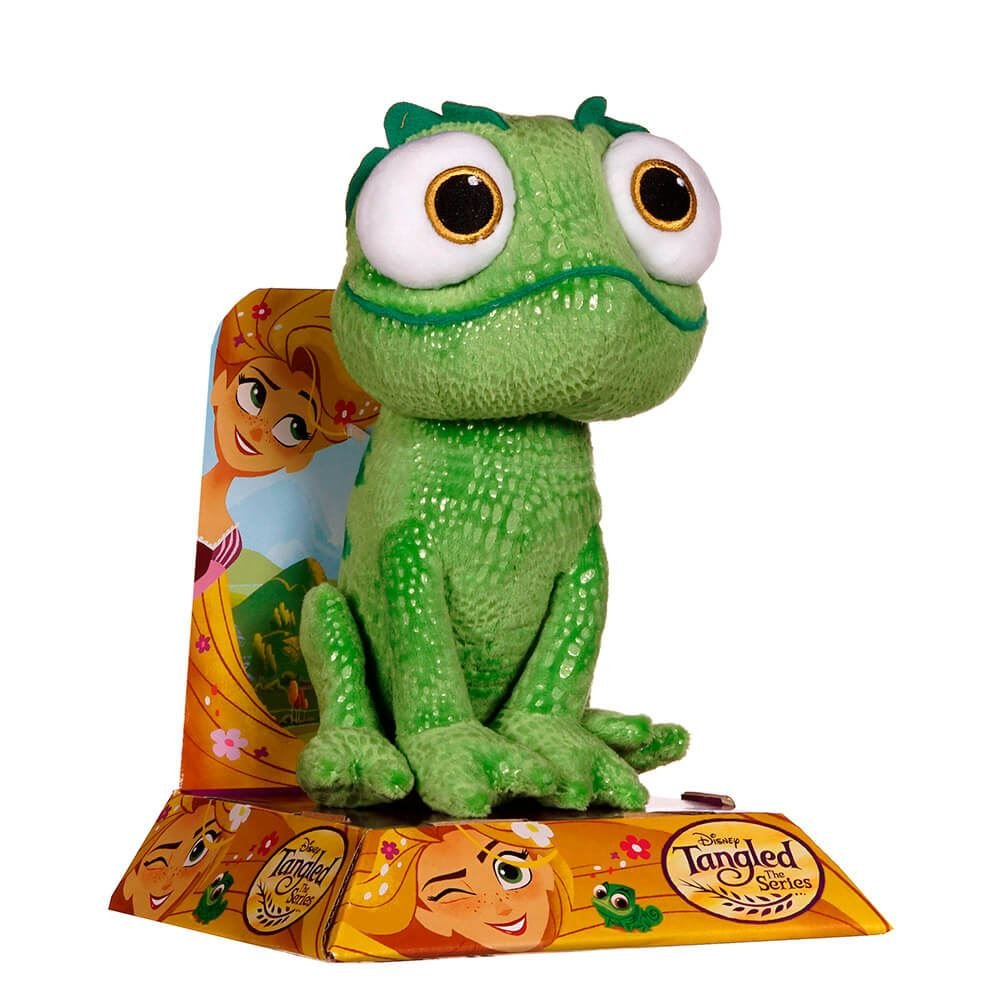 10-Inches Multicolour Posh Paws 37059 Tangled Rapunzels Pascal Soft Toy