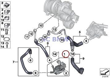 Amazon.com: BMW Mini Genuine Turbocharger Auxiliary Water Pump Coop.S JCW  Cooper S Coop.S JCW Cooper S Coop.SX JCW Cooper S Cooper SX Coop.SX JCW  Cooper S Cooper SX: Automotive | 2014 Mini Cooper Engine Diagram |  | Amazon.com