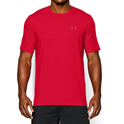 38fa2dc832 Amazon.com: Under Armour Armor Men's Charged Cotton Sportstyle t ...