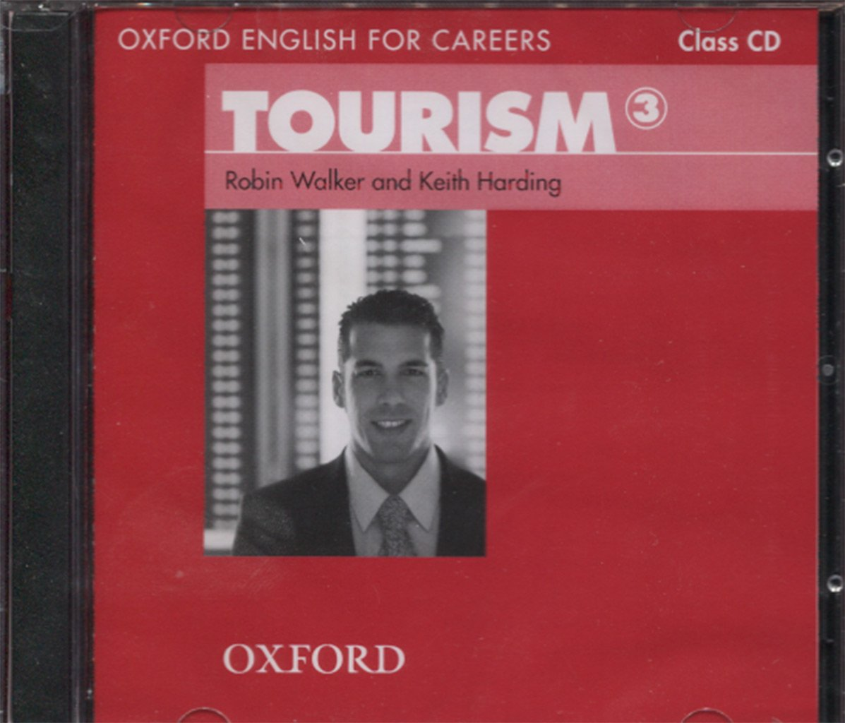 Oxford English For Careers   Tourism Level 3 1 Class Audio CD