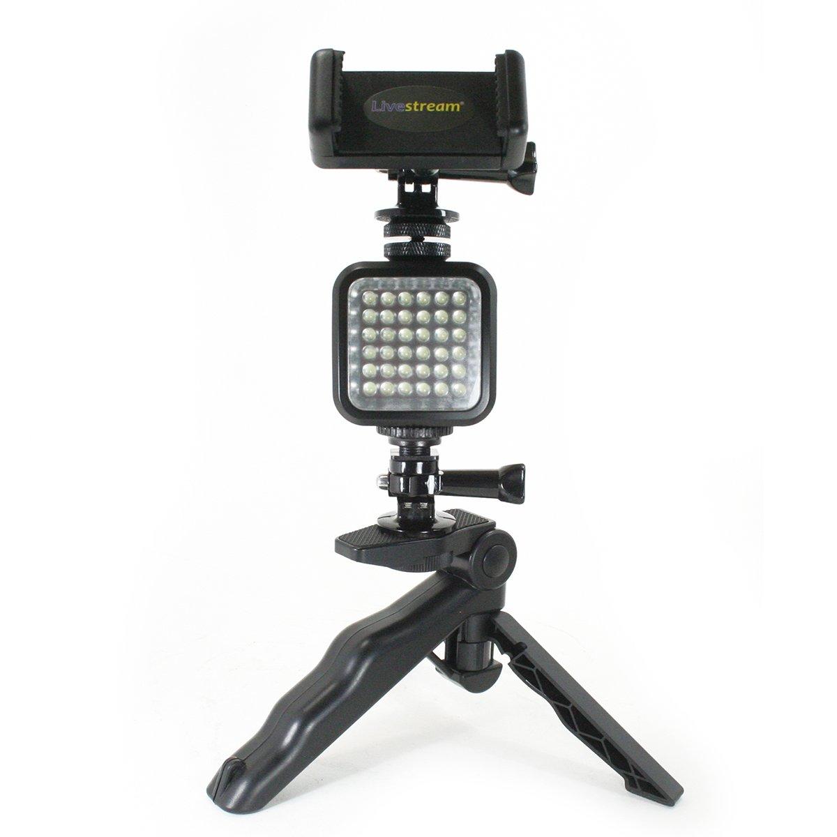 Livestream Gear LS-LED Tripod LED Video Light with tripod