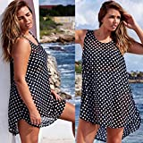 Usstore-Women-Polka-Dot-Bathing-Suit-Bikini-Cover-Up-Beach-Dresses