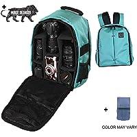 Brain Freezer J Lightweight Camera Backpack Bag for DSLR/SLR Camera Lens (Turquoise)