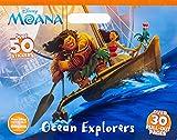 img - for Disney Moana Ocean Explorers (Floor Coloring Pad) book / textbook / text book