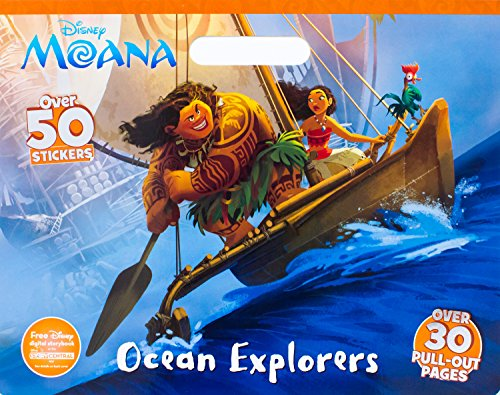 Disney Moana Ocean Explorers (Floor Coloring Pad) (Best Twin Size Mattress For Kids)