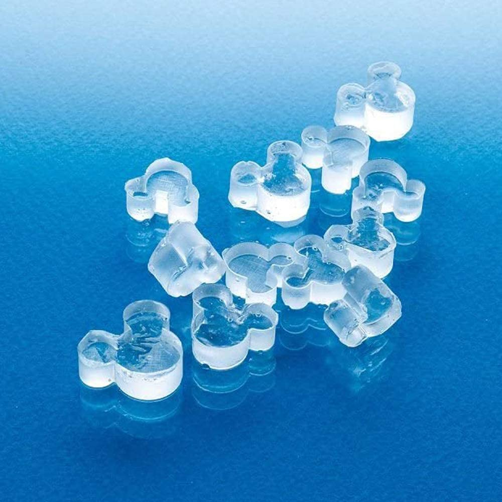 Mickey Mouse  Ice Cube Making Tray Mould Mold with Lid MADE IN JAPAN