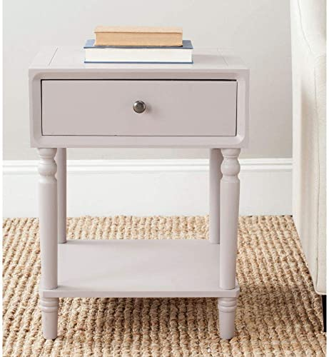 Safavieh American Homes Collection Siobhan Quartz Grey Accent Table
