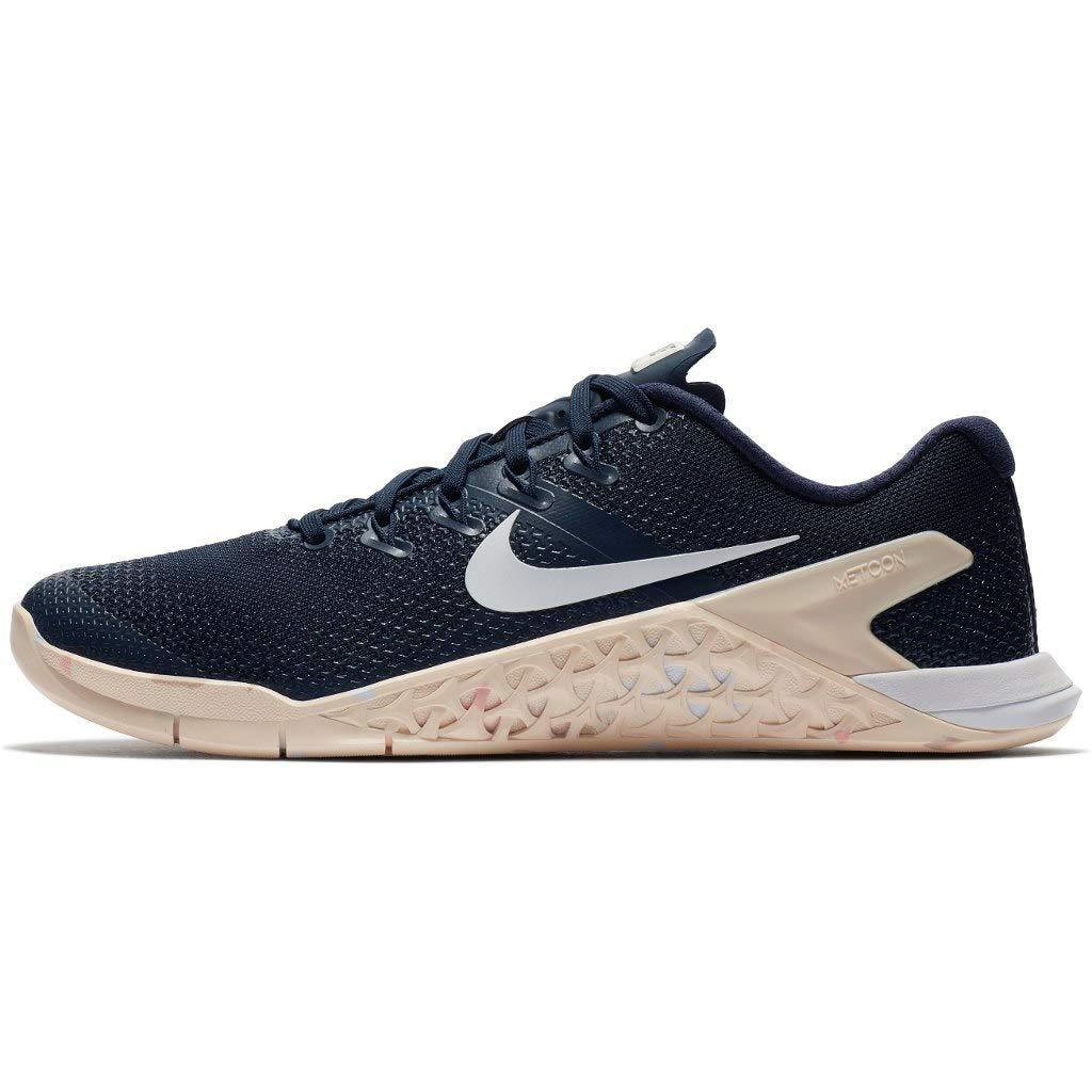 Nike Wmns Nike Metcon 4 - Zapatillas de Running Mujer 37.5 EU Multicolor (Obsidian/White-guava Ice-storm Pink 402)