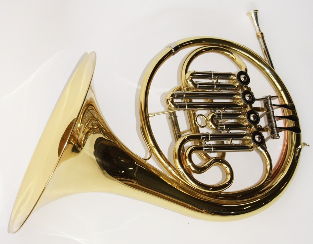 Cher Rystone 0754235505013BB French Horn Stop Valve French Horn with Case by Cherrystone