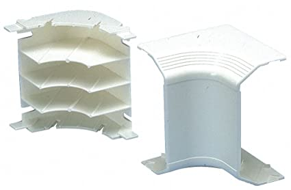 Panduit T70ICIW Embellecedor de cables de esquina interior - Accesorio (Embellecedor de cables de esquina
