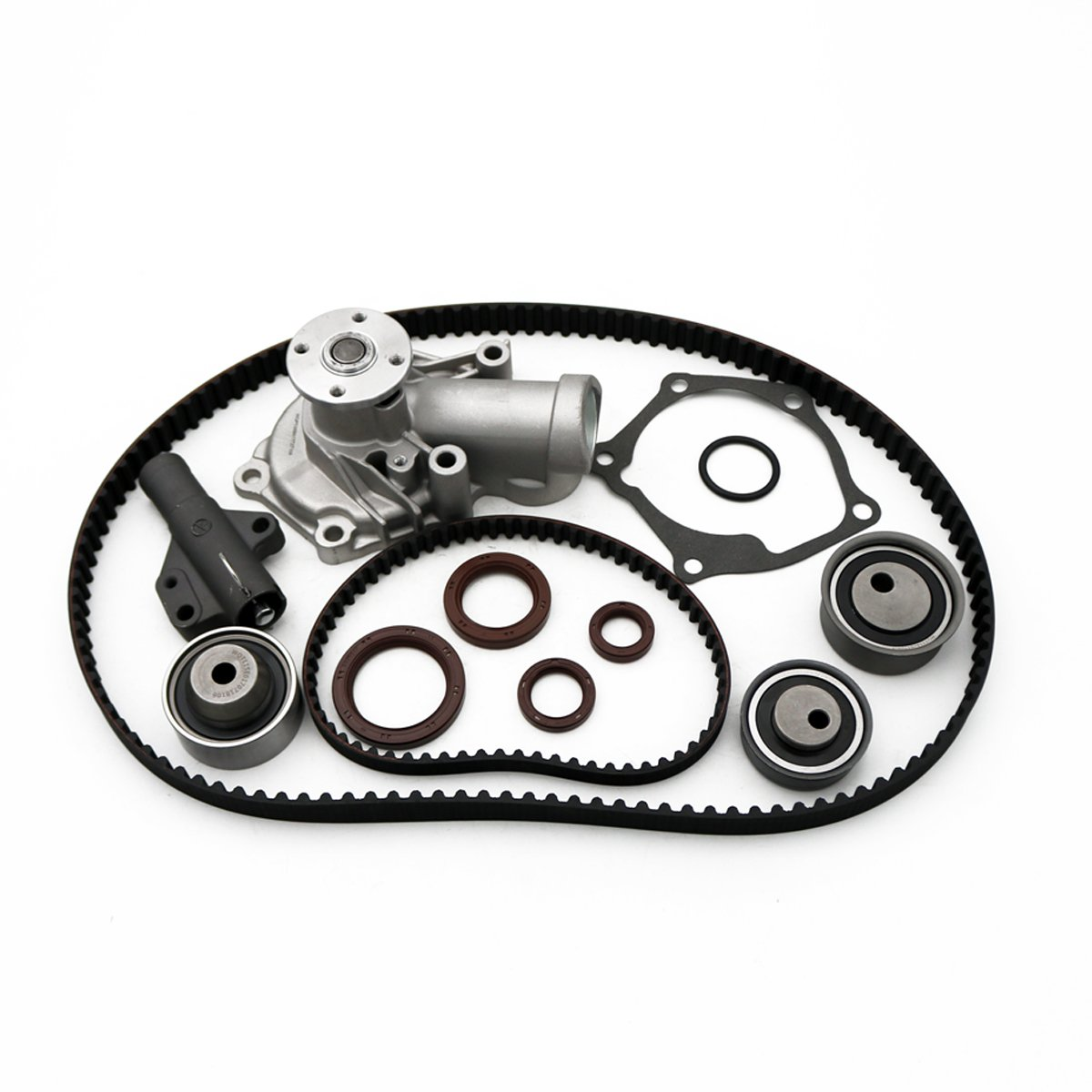 2004-2006 Lancer 2006 2007 Eclipse 2.4L SOHC Timing Belt Water Pump Kit fits for 2004 2005 2006 Mitsubishi Galant