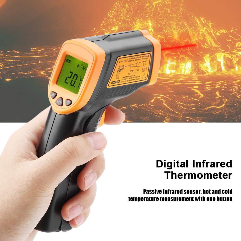Smart Sensor AR320 No-Contact LCD Display Digital Infrared Thermometer 32℃~380℃