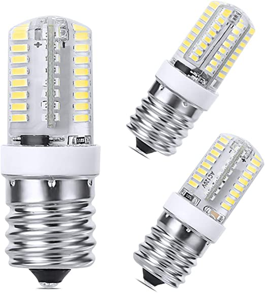 Amazon.com: LEDERA E17 - Bombilla LED regulable (6000 K, luz ...