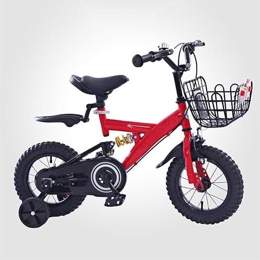 QXMEI Niños En Bicicleta 2-3-6-9 Años Niños 12/14/16/18 Pulgadas ...