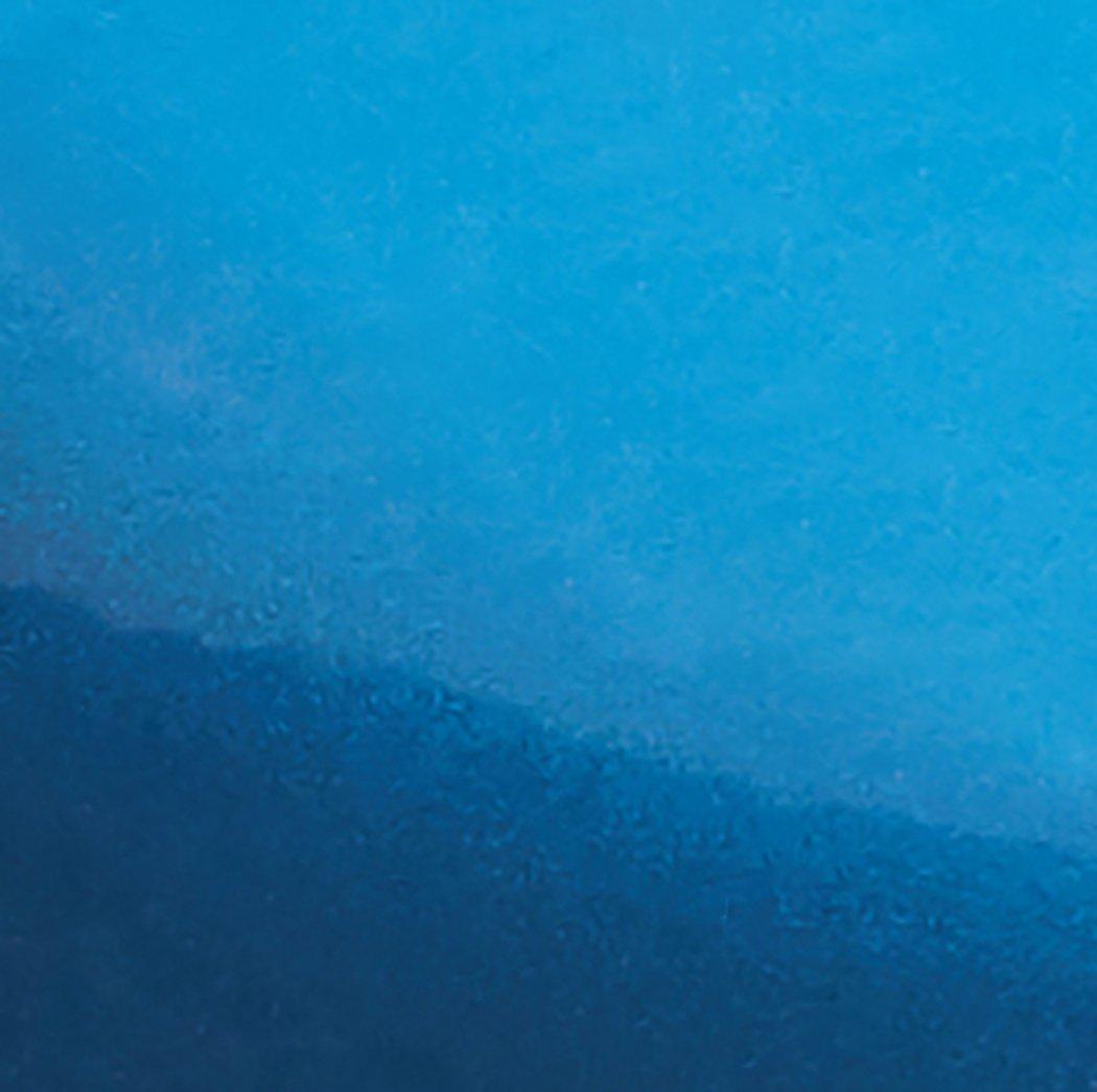 AmazonBasics Enameled Cast Iron Covered Casserole Skillet, 3.3-Quart, Blue by AmazonBasics (Image #2)