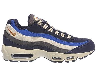 NIKE Herren Air 95 Max 95 Air PRM Sneakers, Mehrfarbig (schwarzened Blau ... 7774bf