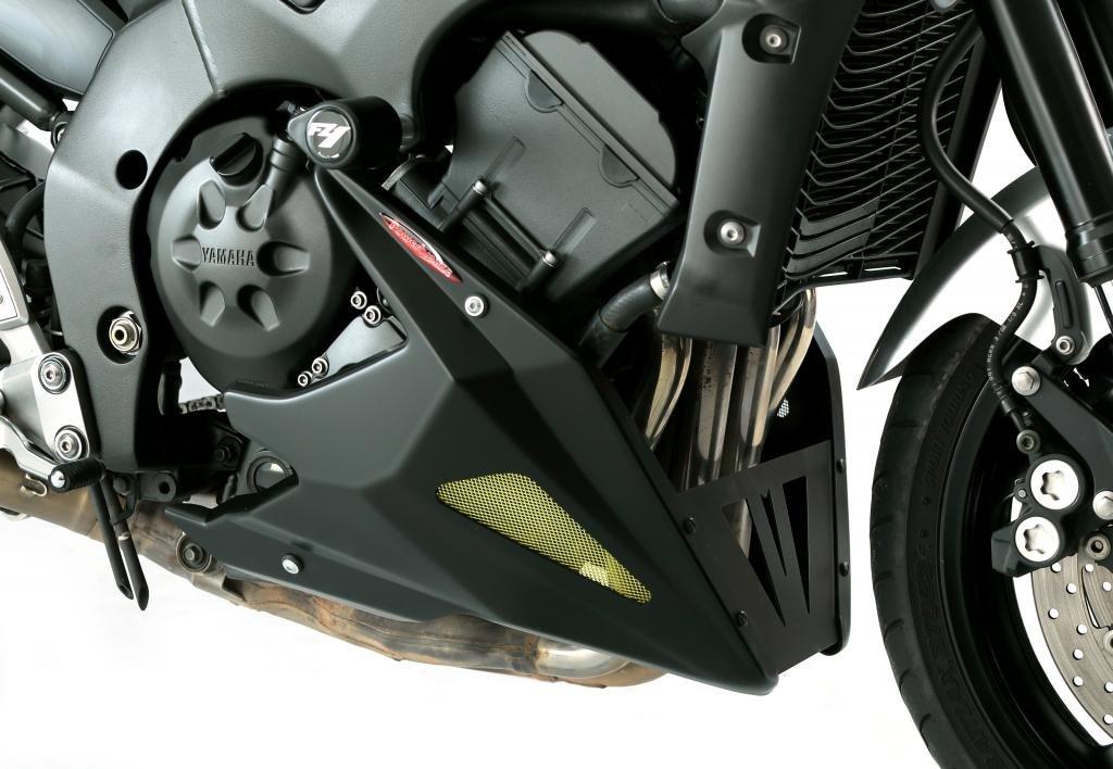 Yamaha fz-1 N/FZ1000 Fazer 06 –  15/Black-Gold malla nuevo estilo vientre cacerola Powerbronze
