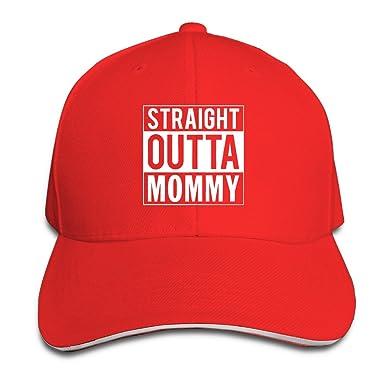 Straight Outta mamá madre de la marca regalo algodón gorras de ...