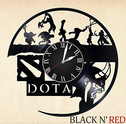 Dota Handmade Vinyl Record Wall Clock