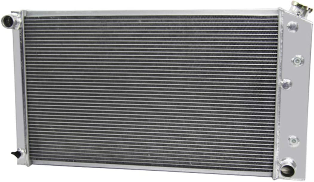 CoolingSky 3 Row All Aluminum Radiator for GM Chevrolet/Buick/GMC Pickup; El Camino, Chevelle Impala 1968-87