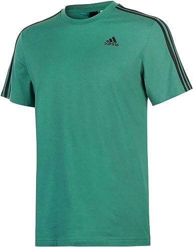 adidas Essentials Classics 3 Streifen T Shirt Blau | adidas Deutschland