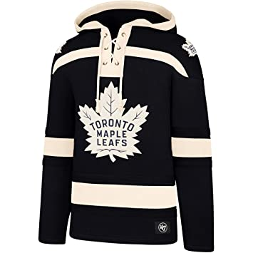 edd1883ad6f 47 Brand NHL Toronto Maple Leafs Lacer Hoody Jersey Trickot  Kaputzenpullover Forty Seven