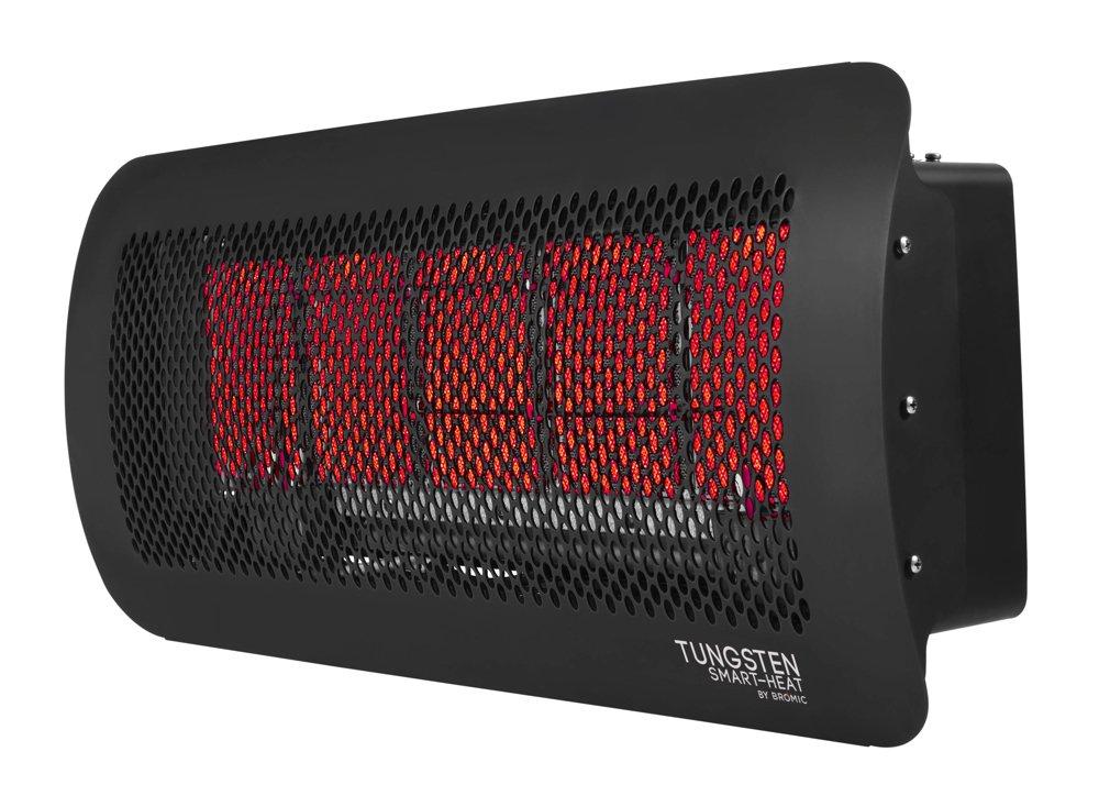 Amazon.com : Bromic Heating Tungsten 500 Smart Heat Gas 5 Burner Radiant  Infrared Patio Heater, Natural Gas, 43000 BTU : Garden U0026 Outdoor