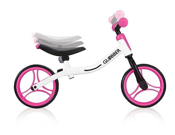 Globber Go Bike 610-162 - Bicicleta, Color Blanco y Rosa ...