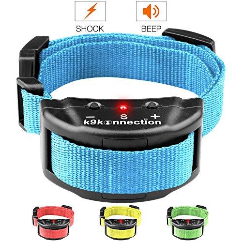 K9KONNECTION [Collars Dog No Bark Shock Collar Training System with Harmless Warning Beep & 7 Levels...