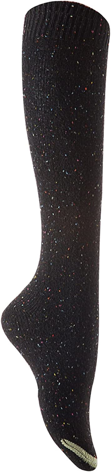 Lian LifeStyle Women's Awesome Breathable Knee High Cotton Boot Socks Size 6-9