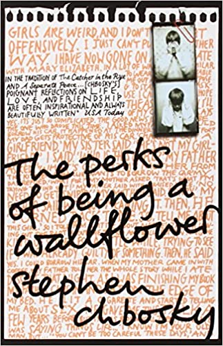 Bildresultat för the perks of being a wallflower book cover