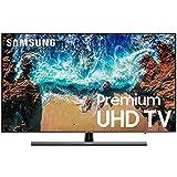 """Samsung 55"""" TV UN55NU800DFXZA Premium UltraHD 4K diseño 360 ULTRA Delgado FUNCIÓN BLUETOOTH AUDIO (solo salida), incluye """"ONE REMOTE"""" con función de comando de voz 240HZ. (Renewed)"""