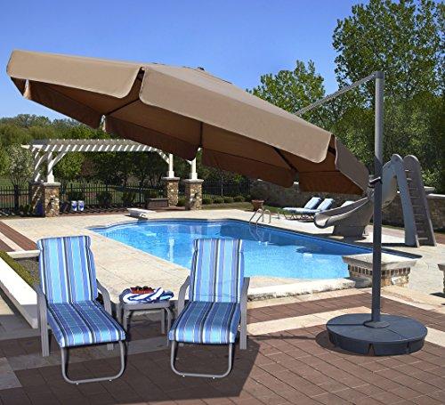 Island Umbrella NU6785 Cantilever Sunbrella
