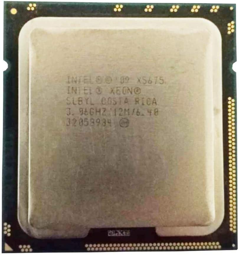 LGA 1366 X5675 Six Core Server CPU Intel Xeon Processor X5675 12M Cache, 3.06 GHz, 6.40 GT//s Intel QPI