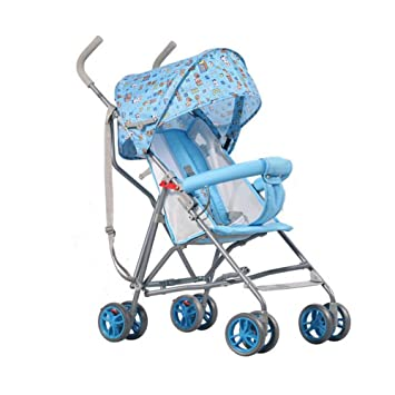 Coche De Bebé Coche De Bebé De Dibujos Animados Ultra Ligero Sentado Carro Semi Sentado Cesta