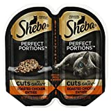 Cheap Sheba Perfects Portions Multipack Cuts in Gravy,Roasted Chicken Entree (6-TRAYS) (TOTAL 12-INDIVIDUAL SERVINGS)