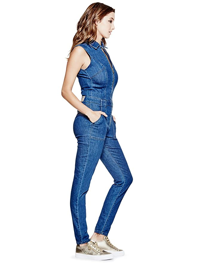 45298029cfe1 GUESS Jessie Denim Jumpsuit  Amazon.ca  Clothing   Accessories