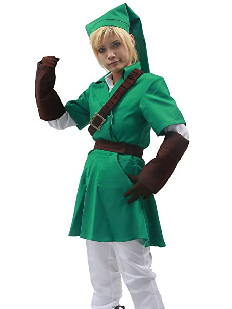 Link Costume Cosplay Productos Letter Traje Green Disfraz ...