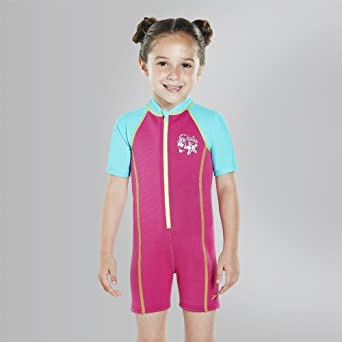 Speedo Hot Tot If Traje de Baño, Niñas: Amazon.es: Deportes y aire ...