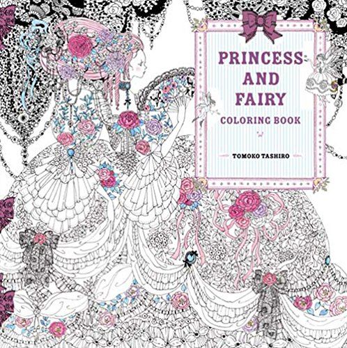 Fairy Tale Coloring Pages (Princess and Fairy Coloring)