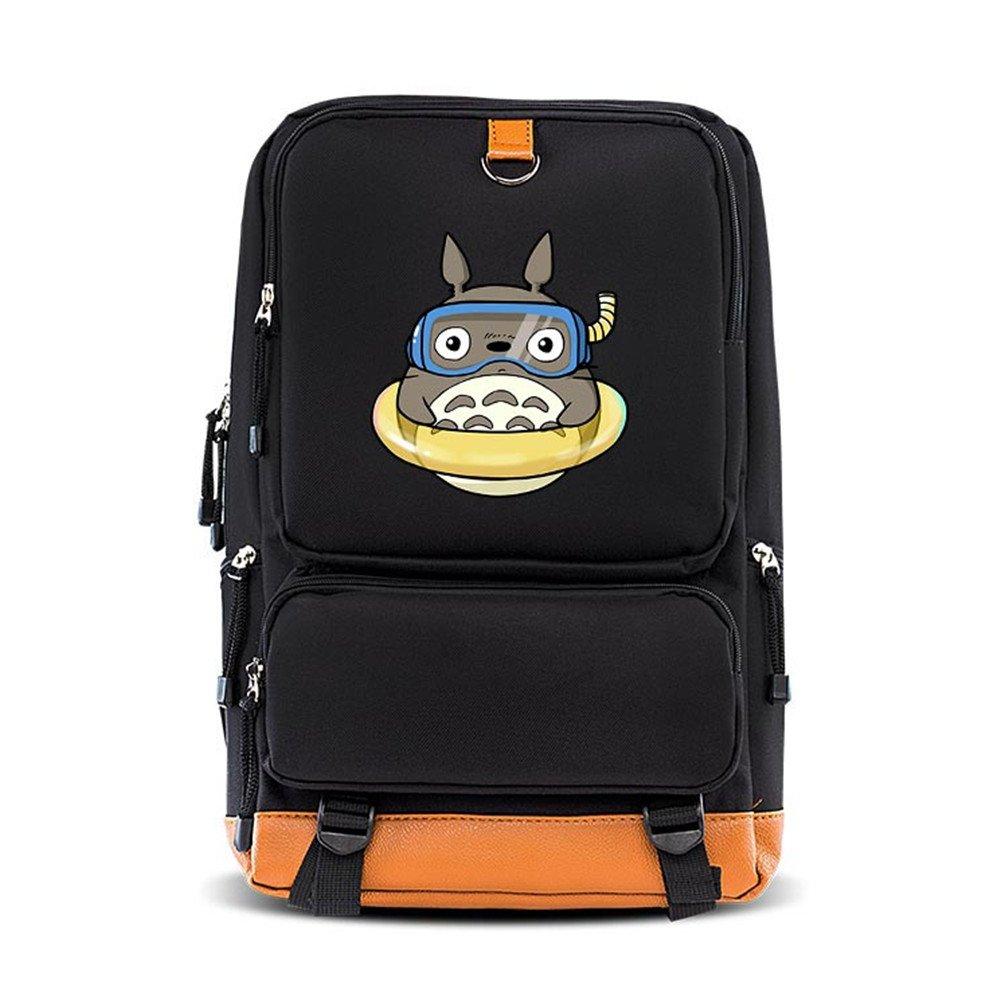 Amazon.com  YOYOSHome Anime My Neighbor Totoro Cosplay Bookbag Shoulder Bag  Backpack School Bag (4)  Computers   Accessories aa441716be