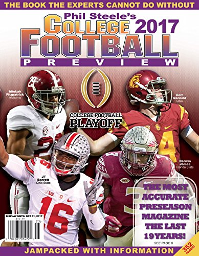 PHIL STEELE'S 2017 COLLEGE FOOTBALL PREVIEW for sale  Delivered anywhere in USA